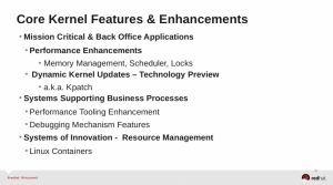 Novità principali Red Hat Enterprise Linux 7